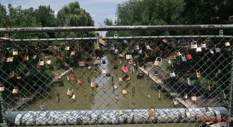 lacatele iubirii poze podul indragostitilor foto timisoara romania