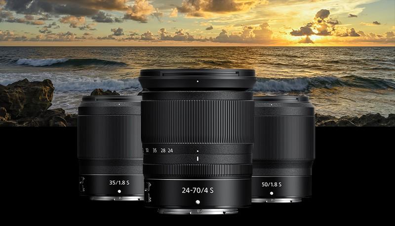 Nikon Z poze obiective mirrorless full frame nikkor