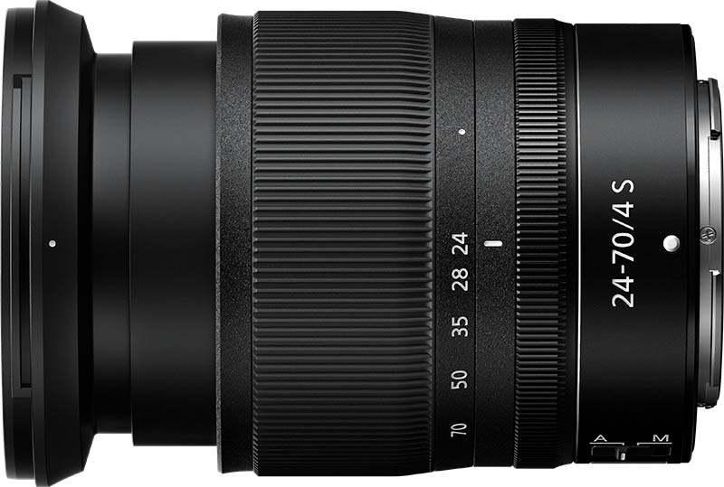 Nikon Z poza obiectiv nikkor 24-70mm mirrorless