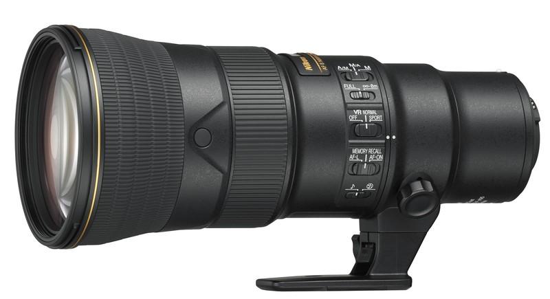 Nikon 500mm F5.6E PF ED VR poza teleobiectiv format fx