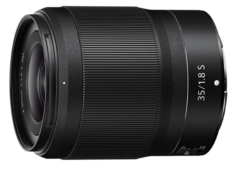 Nikon Z poza obiectiv nikkor 35mm mirrorless