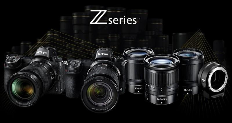 nikon z6 nikon z7 aparate foto mirrorless