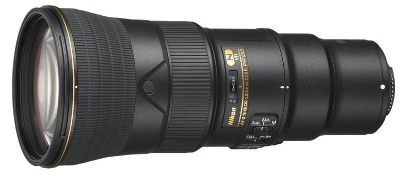 Nikon 500mm F5.6E PF ED VR poza teleobiectiv usor dimensiuni compacte