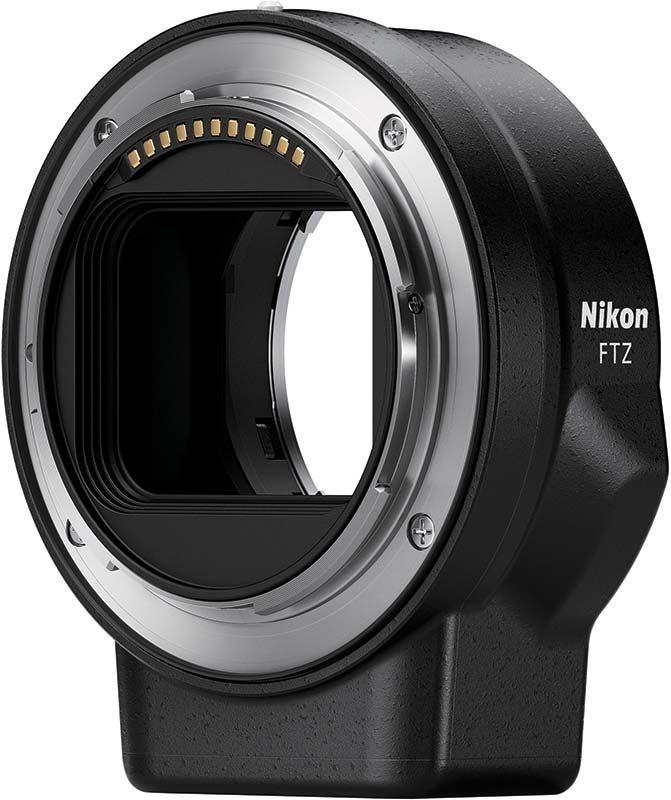 Nikon Z poza adaptor FTZ obiective mirrorless