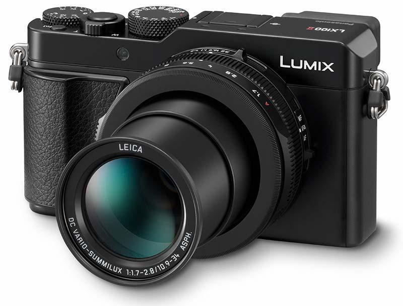 Panasonic LUMIX DMC LX100 II  poza aparat foto compact obiectiv zoom leica