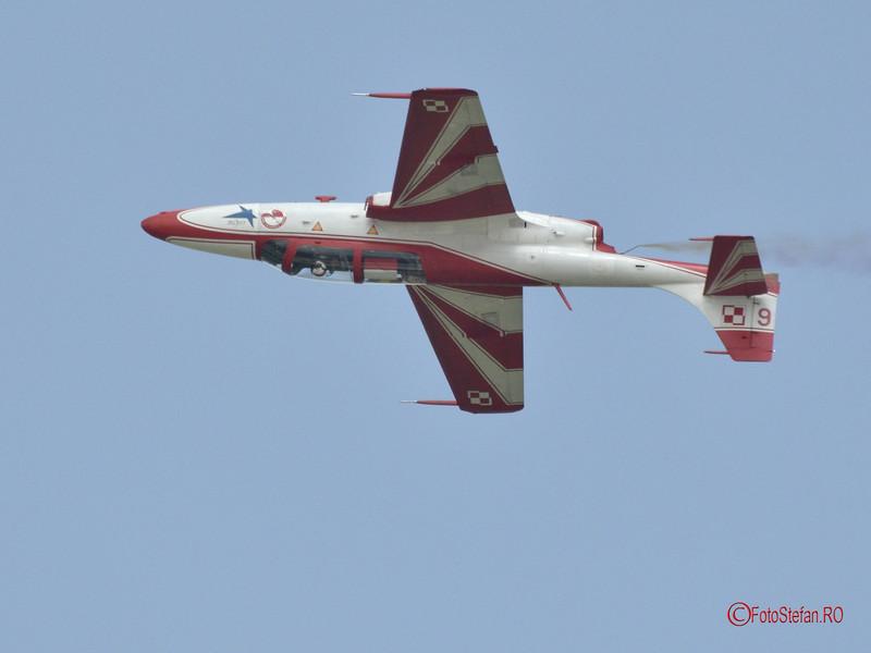 PZL TS-11 Iskra poza avion antrenament acrobatie aeriana fortele aeriene polonia #bias2018