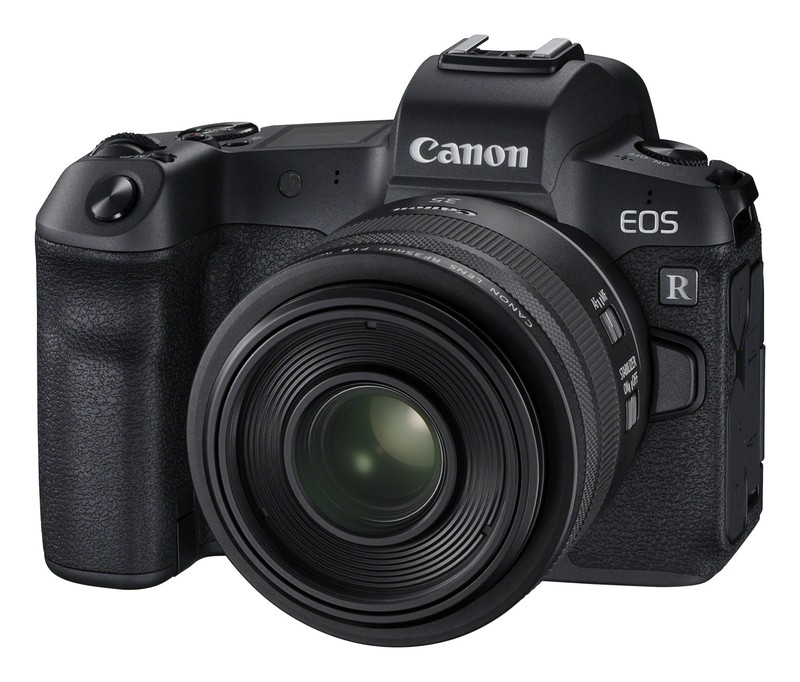 Canon R poza aparat foto mirrorless full-frame