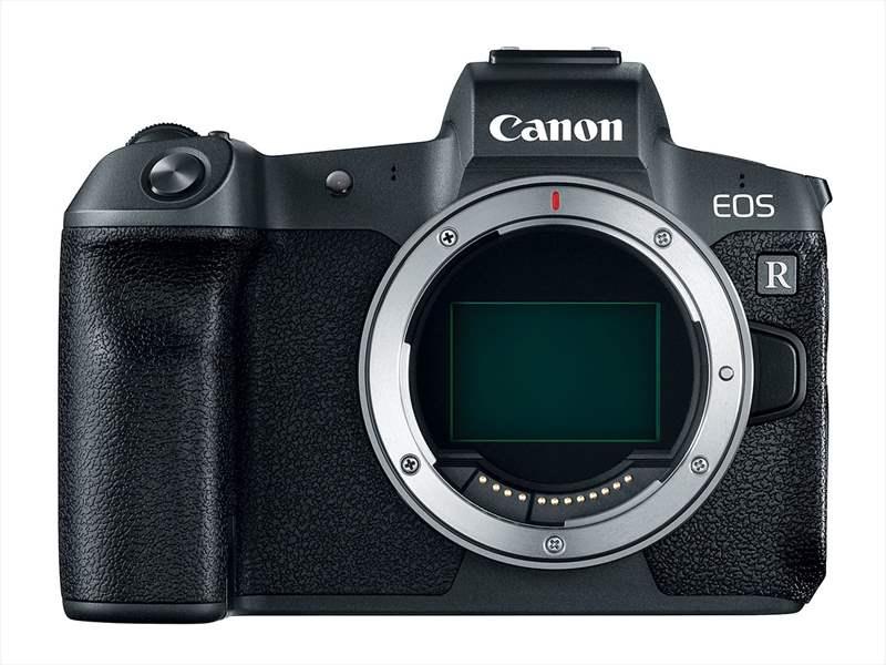 Canon EOS R poza senzor full-frame