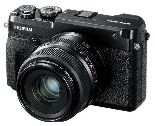 Fujifilm GFX 50R poza parat foto mirroless format mediu