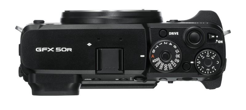 poza butoane aparat foto mirrorless GFX 50R