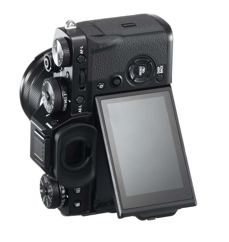 Fujifilm X-T3 lcd mobil poza aparat foto mirrorless