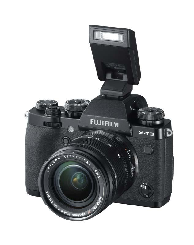 Fujifilm X-T3 blit extern aparat foto mirrorless
