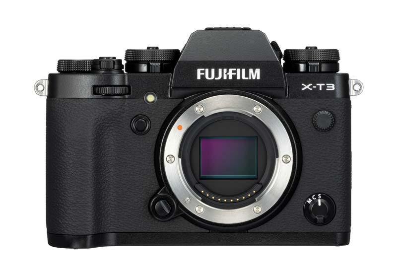 Fujifilm X-T3 poza senzor aparat foto mirrorless