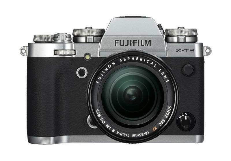 Fujifilm X-T3 argintiu aparat foto mirrorless