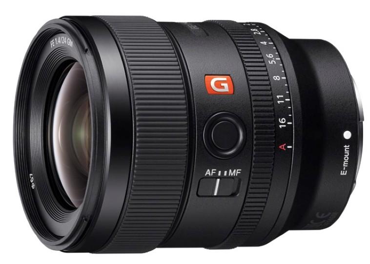 Sony FE 24MM F1.4 GM poza obiectiv aparat foto mirrorless full-frame