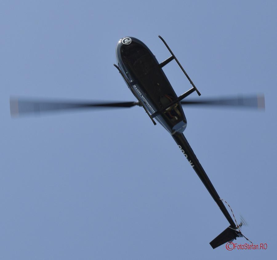 poza elicopter obinson 44 Raven II aeronautic show bucuresti
