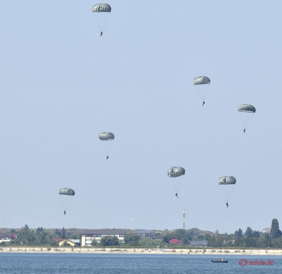 AeroNautic Show 2018 poze parasutisti militari lacul morii bucuresti