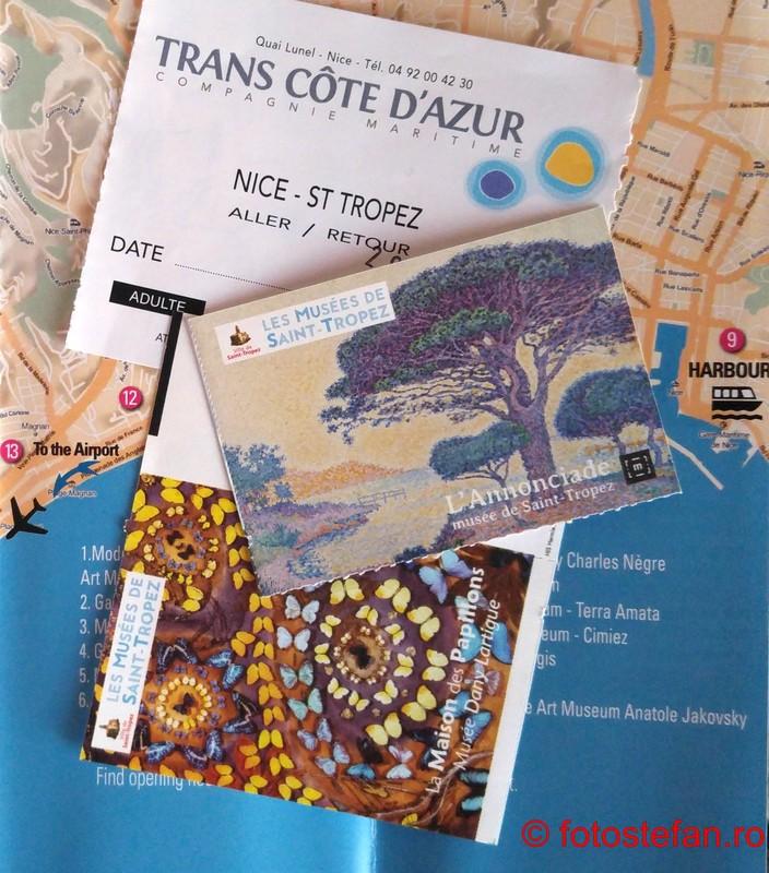 poza bilete muzee saint tropez franta coasta de azur