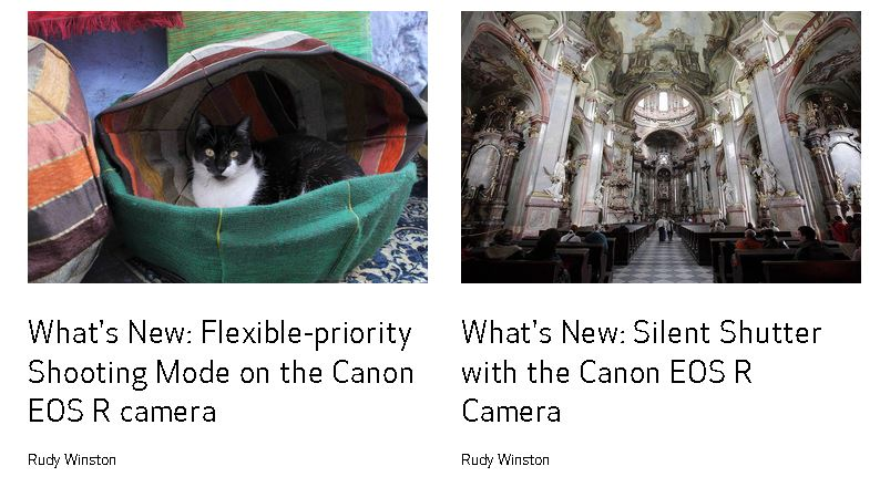 lectii online de fotografie canon learn site