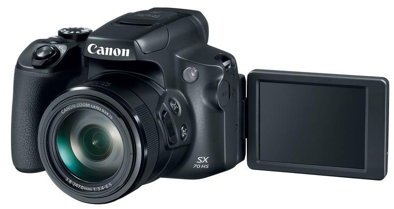 Canon PowerShot SX70 HS poza lcd mobil selfie zoom 65x