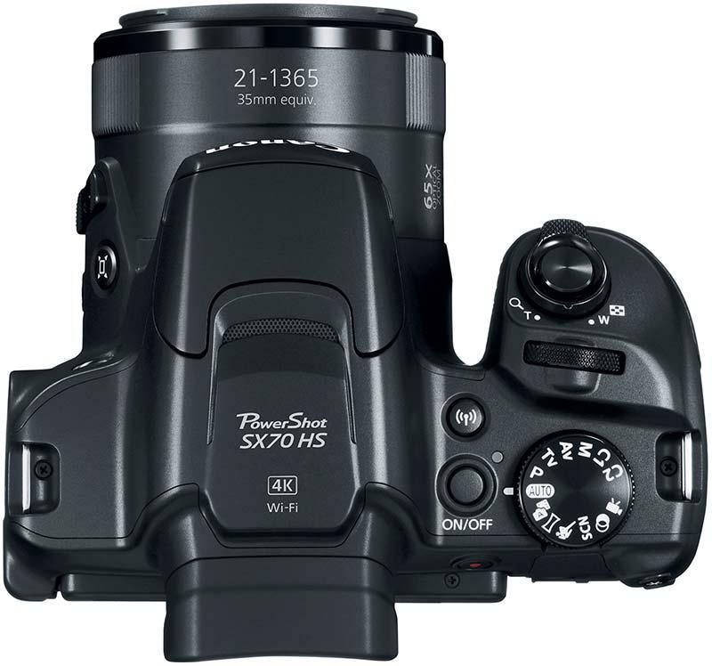 Canon SX70 HS aparat foto zoom optic 65 x stabilizare