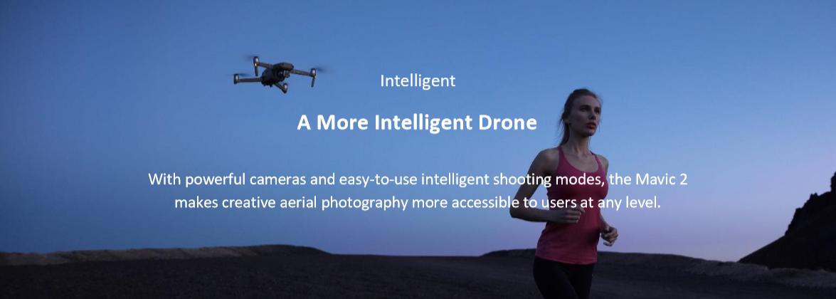 tehnologii drone dji mavic