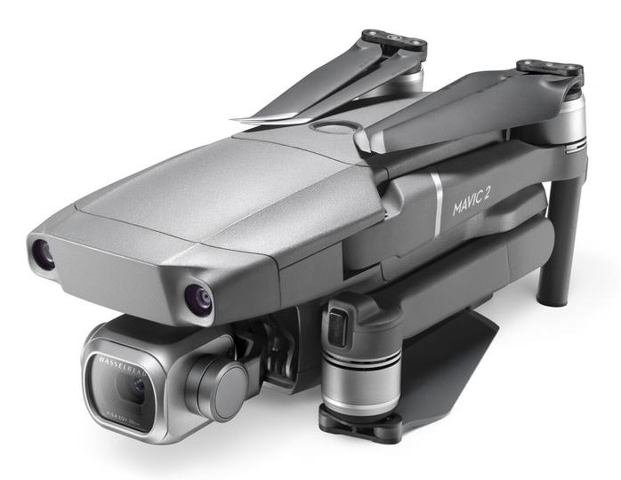 DJI Mavic 2 Pro poza drona pliata stransa impachetata