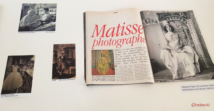 henri matisse fotograf Muzeul Matisse Nisa Franta poze