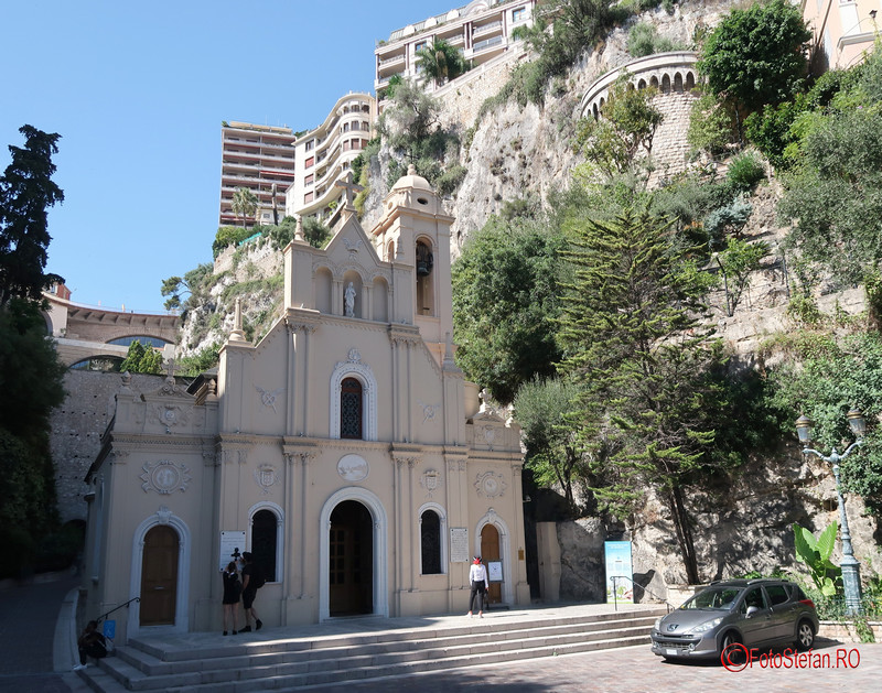 de la Nisa la Monaco poze biserica catolica Saint Devote Chapel