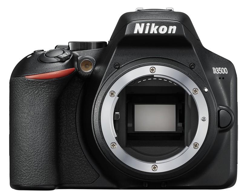 Nikon D3500 senzor poza aparat foto dslr