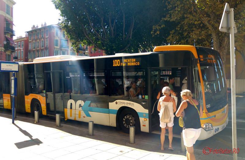 de la Nisa la Monaco poze autobuzul 100 fotografii turism