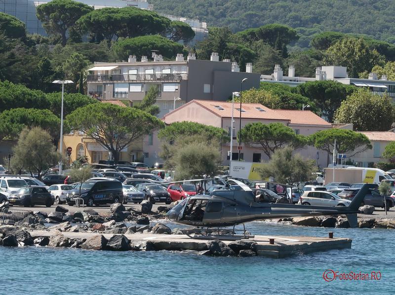 de la Nisa la Saint Tropez elicopter poze informatii vacanta franta fotografii