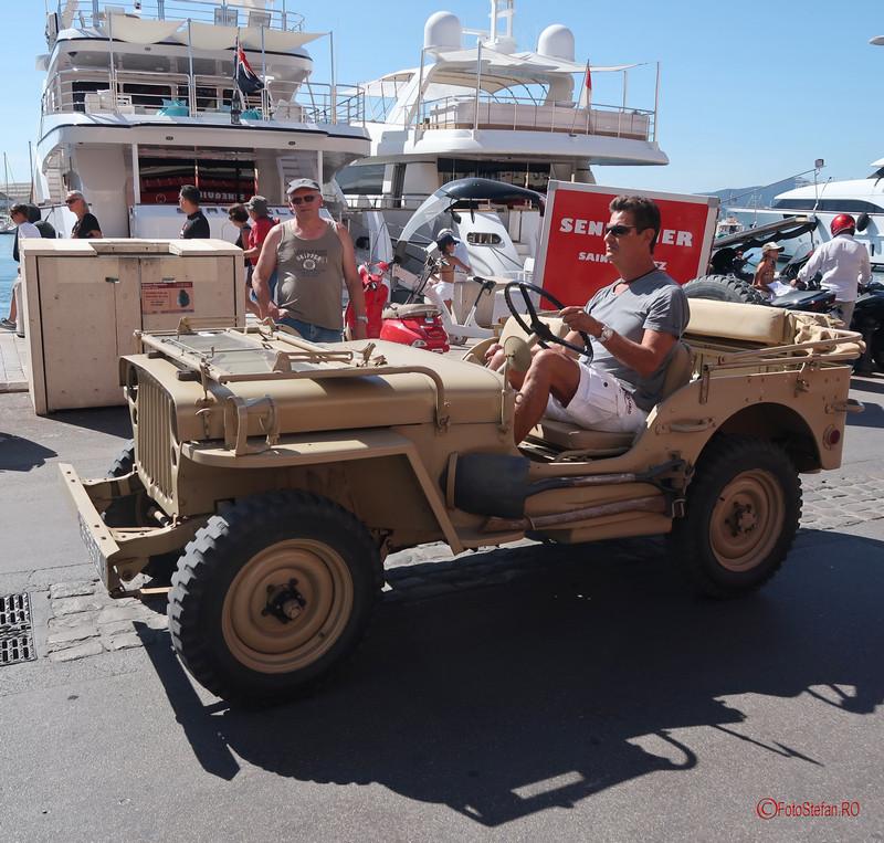 poza jeep saint tropez franta calatorie