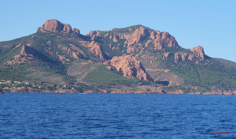 poze calatorie de la nisa la saint tropez coasta azur franta munte