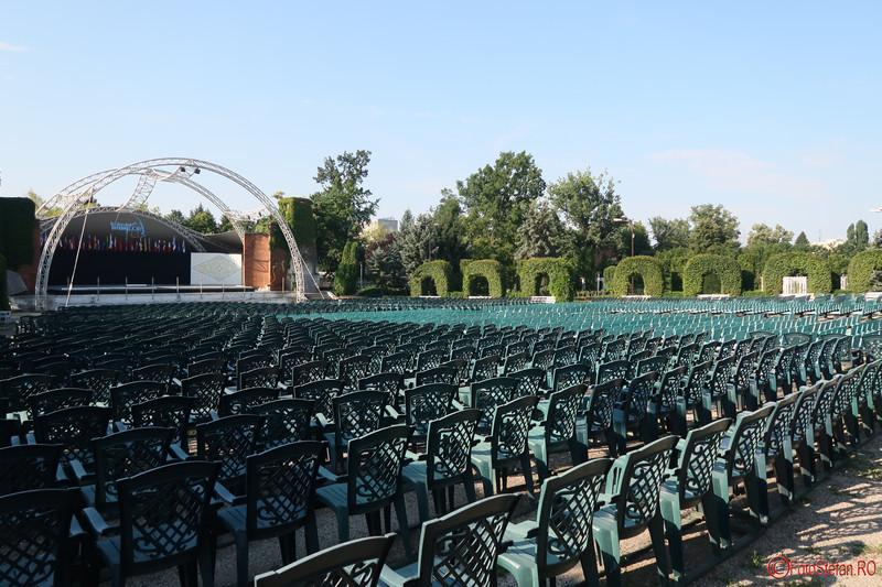 poze teatru aer liber Parcul Rozelor Timisoara fotografii