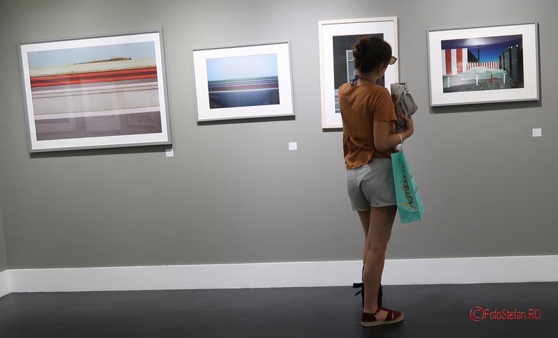 poze expozitiei fotografii peisaj Franco Fontana muzeul fotografiei nisa