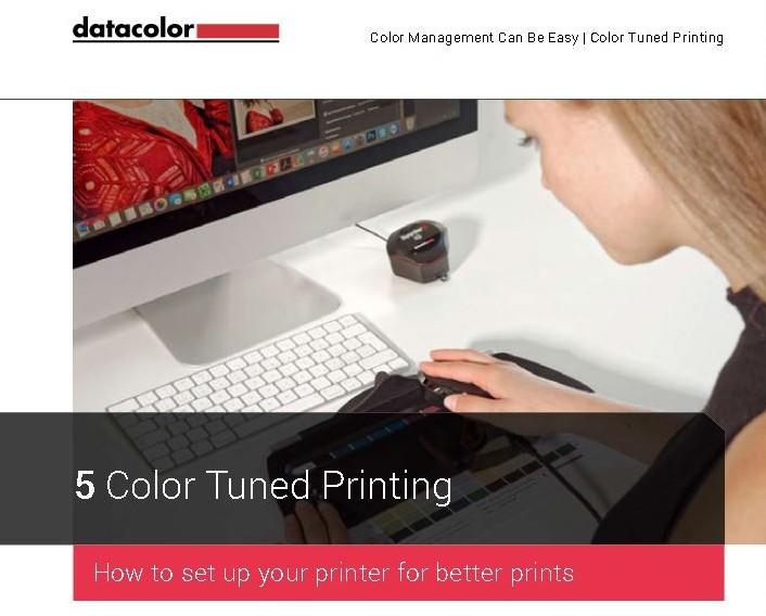 datacolor Spyder5 eBook gratuit calibrare managementul culorii