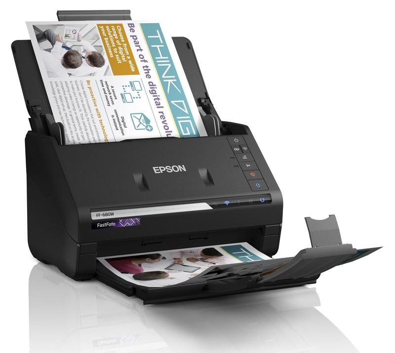 scaner foto compact epson FastFoto FF-680W