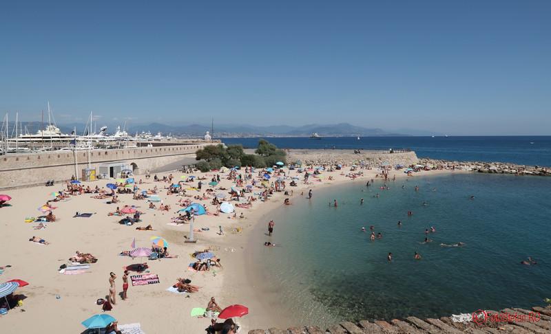 Antibes poze plaja coasta de ajur riviera franceza