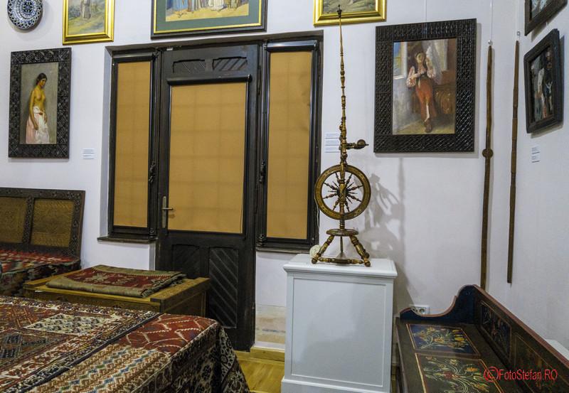interior vila clopotei muzeul dr. nicolae minovici bucuresti