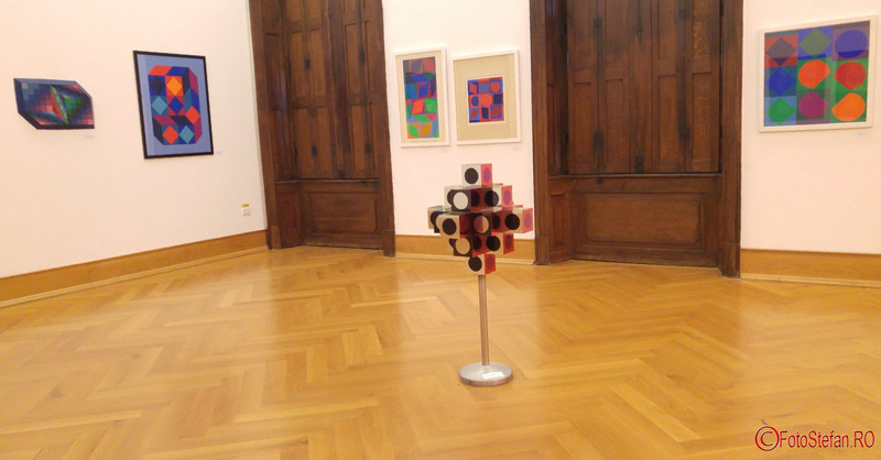Victor Vasarely expozitie fotografii Muzeul de Arta Timisoara