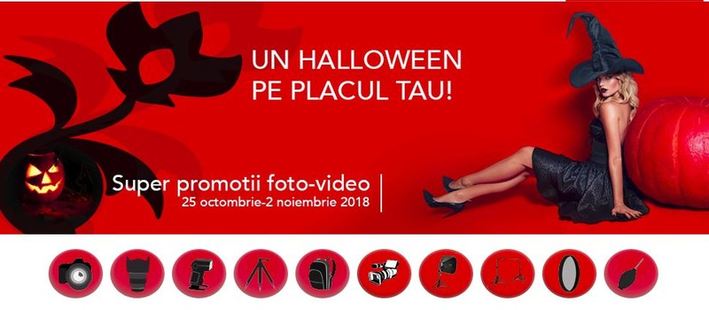reduceri oferte promotii halloween aparate foto