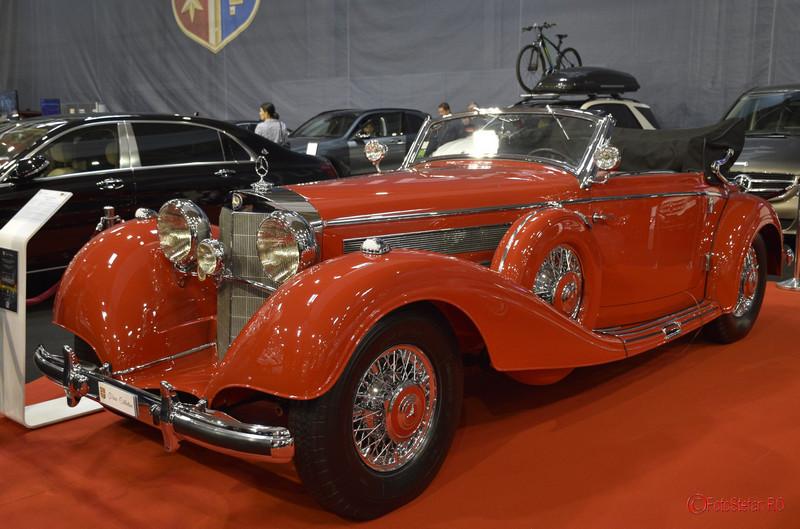 Salonul Auto Bucuresti poze fotografii Mercedes-Benz 540K Cabriolet A