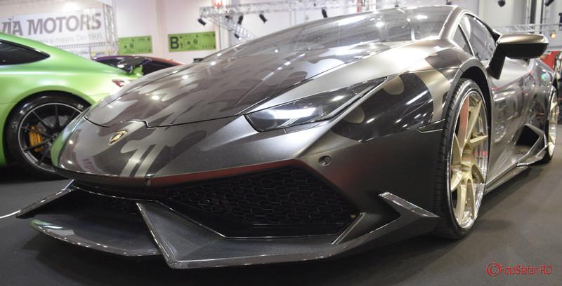 Salonul Auto Bucuresti fotografii masini Lamborghini
