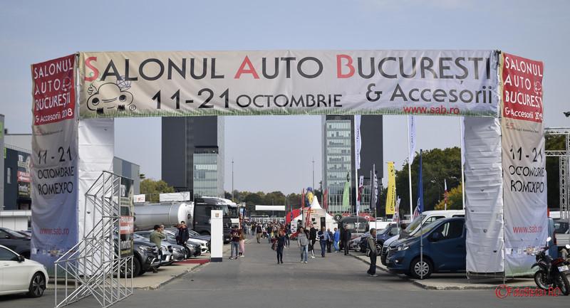 Salonul Auto Bucuresti SAB poze fotografii masini Romexpo