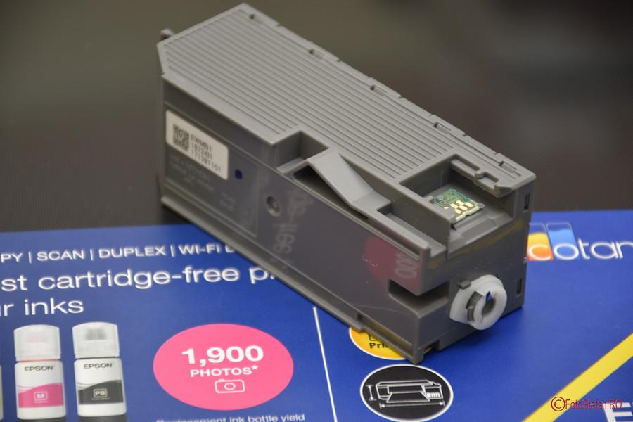 Epson L7160 review poza cutie intretinere ET-7700 imprimanta jet cerneala