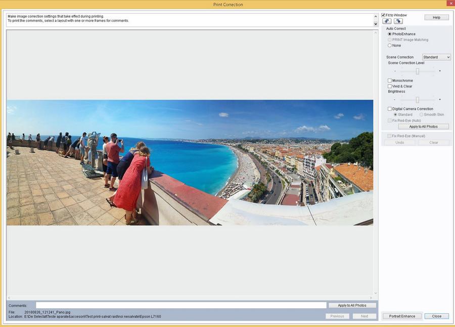 soft easy photo print Epson L7160 review test imprimanta foto