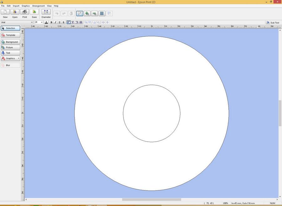 poza captura ecran software print cd Epson L7160 review test