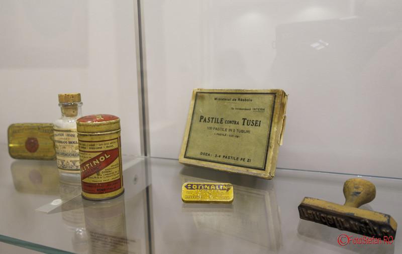 fotografii exponate muzeul Victor Babes doctor medicina Bucuresti