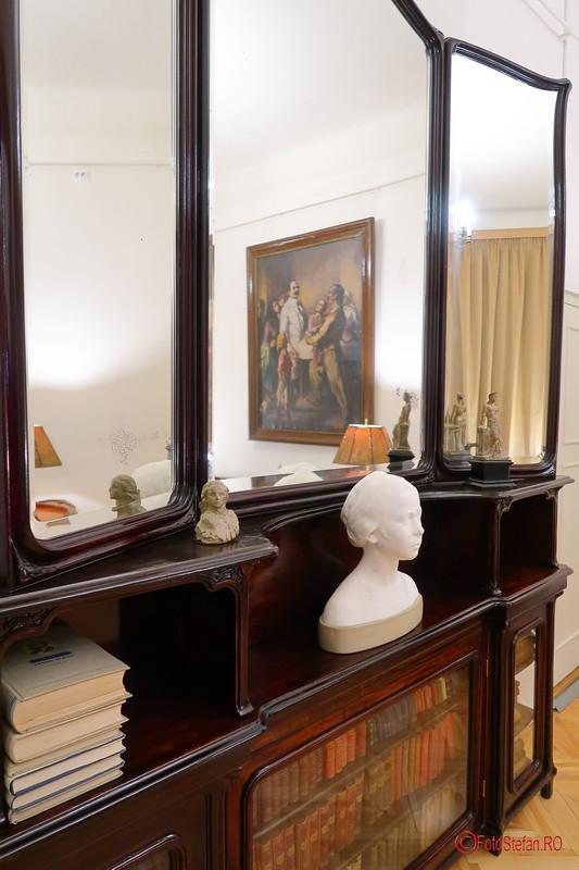 fotografii interior muzeul Victor Babes bucuresti romania